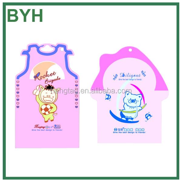 Kids clothing hang tags t shirt hang tags wholesale for T shirt tags wholesale