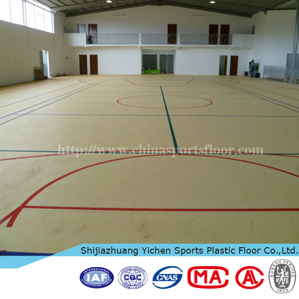 Indoor Basketball Court Wood Flooring