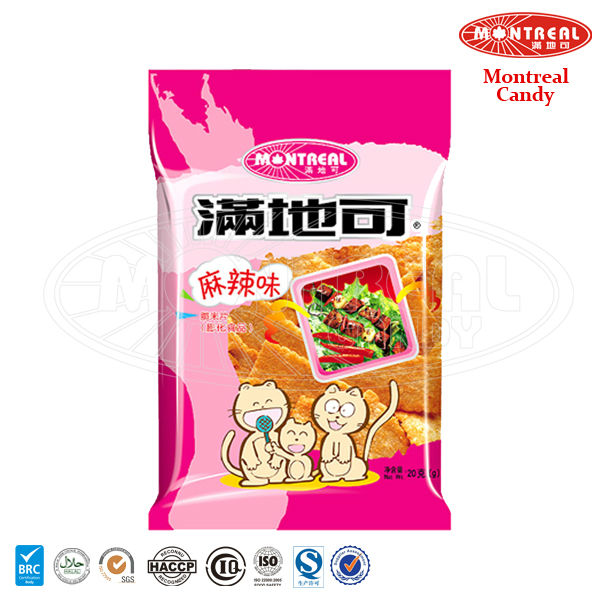 Spicy flavoured wholesale chips snack food