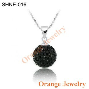 Ювелирная подвеска Orange Shamballa Shamballa SHPE-Mixcolor