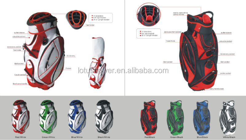 Custom Personalized Golf Bag Cover For Protecting Clubs