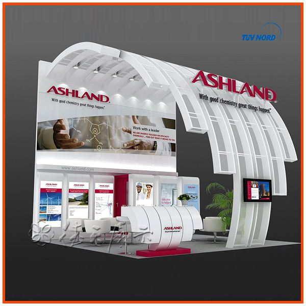 Exhibition Booth Materials : Best sale new aluminum material expo stand used trade show