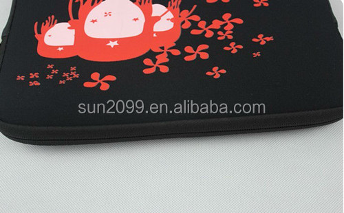 2013 Popular Black Lovely Laptop Case for Girls