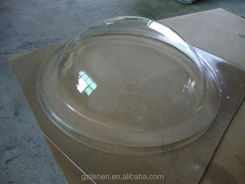 Pc Polycarbonate Round Dome Skylight Plastic Canopy Awing