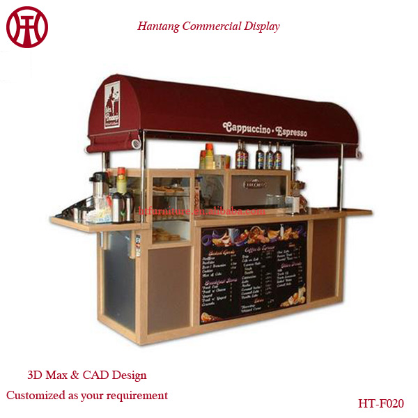 Warm house shape outdoor ice cream kiosk food outdoor for Exterior kiosk design