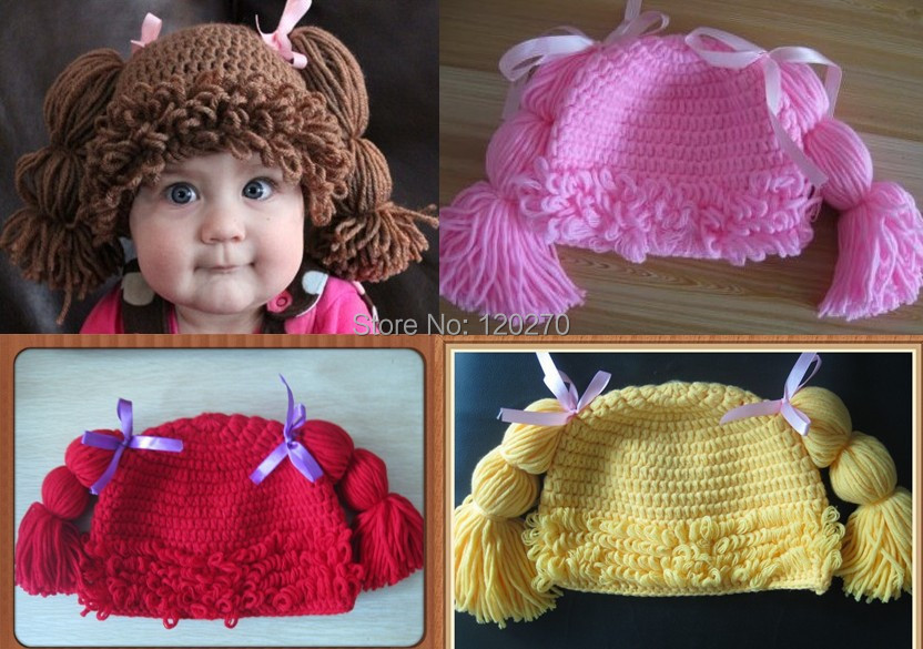 Cabbage Patch Wig Hat Baby Girl