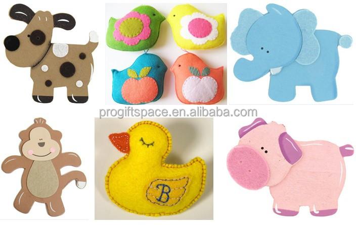 2015 new hot china product custom handicraft animal fabric for Unique craft items