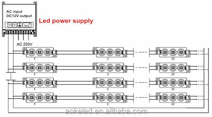 Shenzhen factory waterproof smd 5050 led module