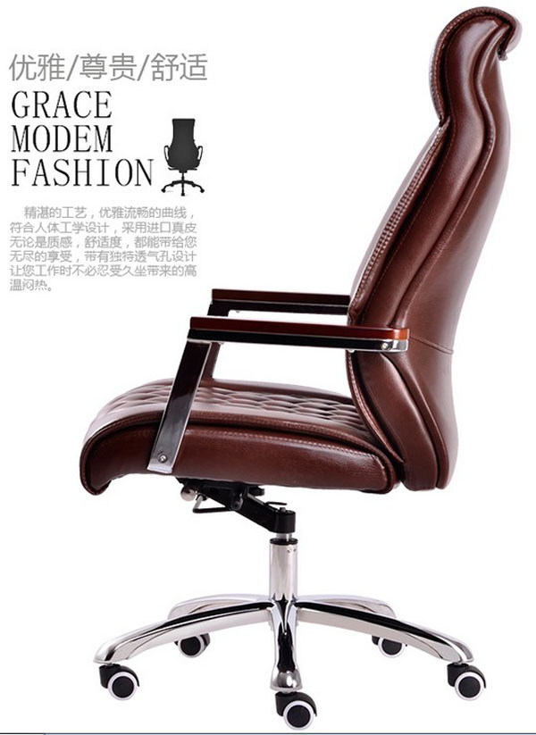 high end leather office chairs 2
