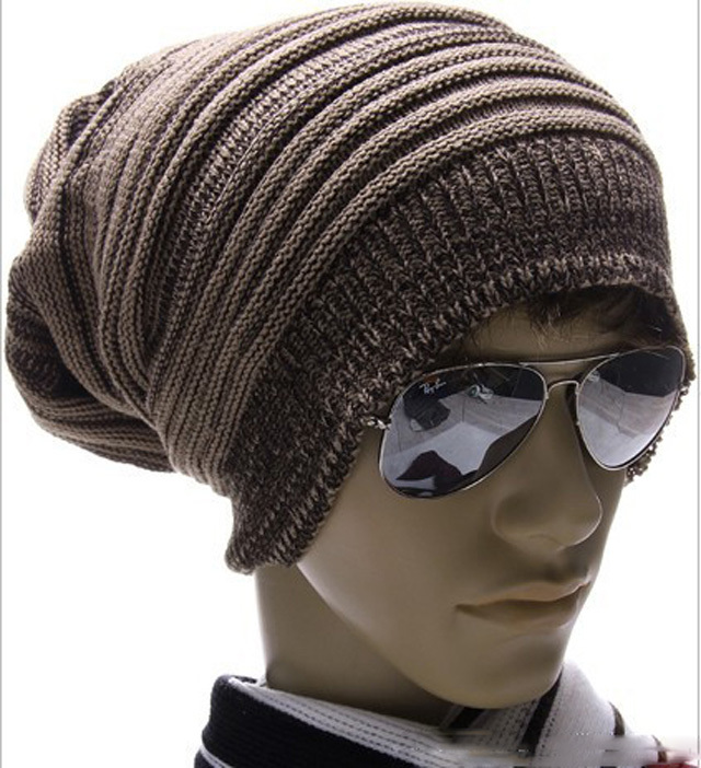 Cap For Men And Women Gorra Accessories Winter Knitted Drape Caps ... 7063eac7202
