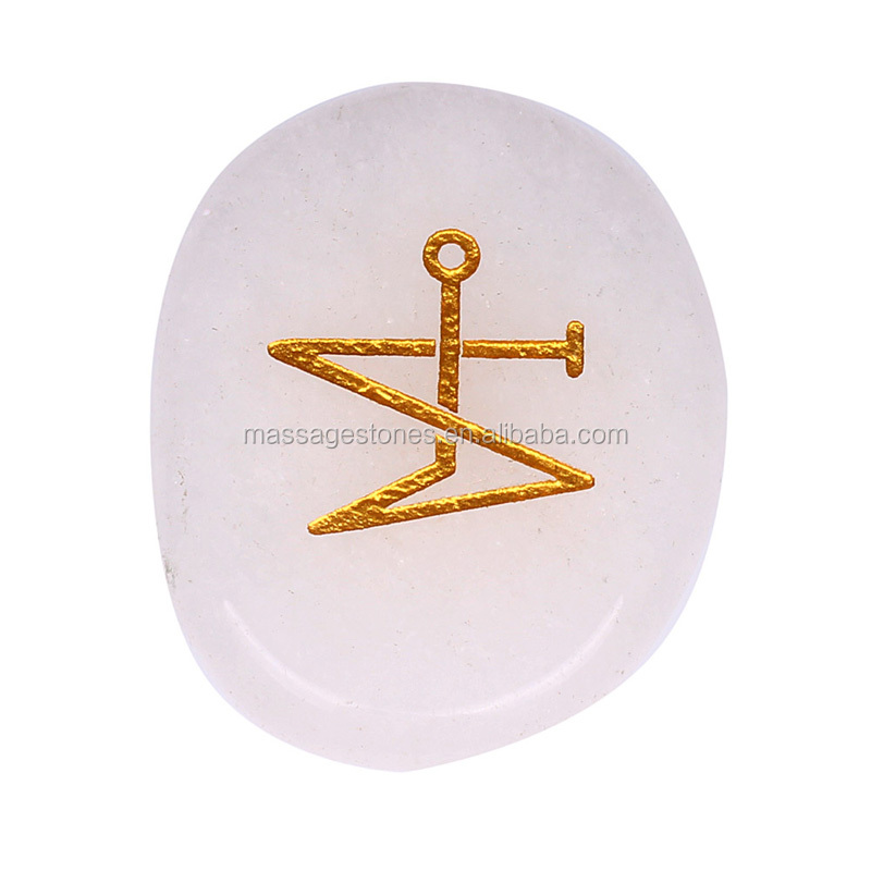 Gemstone Engraving With Archangel Michael Symbol Buy Archangel