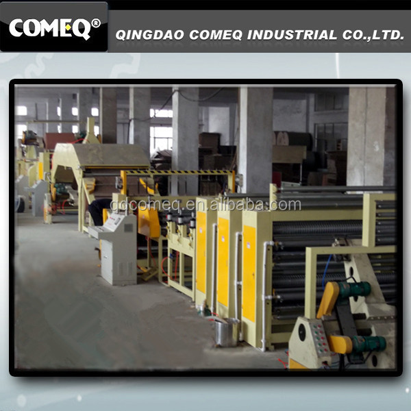 Continuous Honeycomb Paper Machine