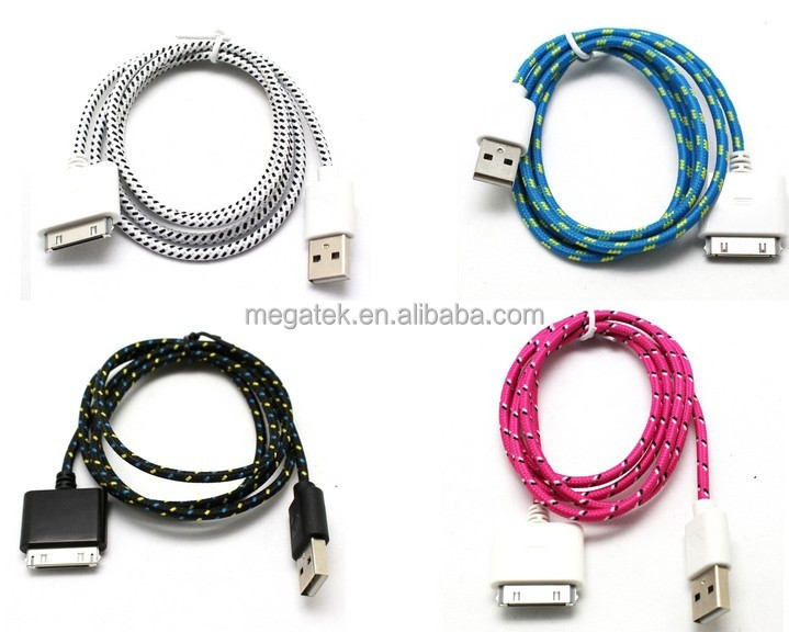 high speed data charging micro usb cable braided