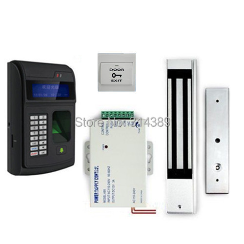 Fingerprint Access Control System With Power Supply Door