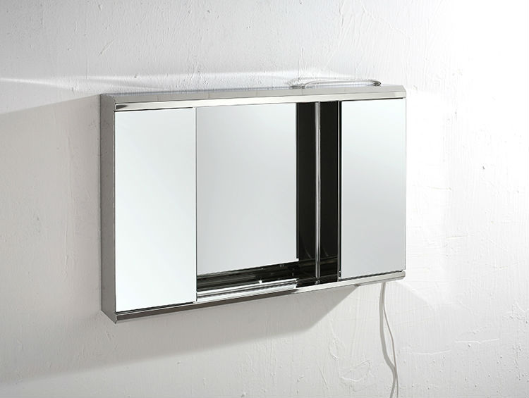 Hot Sale Cheap Prize Bathroom Mirror Cabinets With Lights Ymt 7006 View Recessed Bathroom
