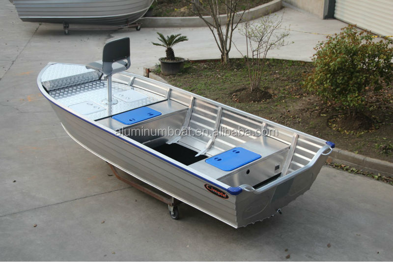 Aluminum Boat With Fishing Platform 450 Adventure Sc