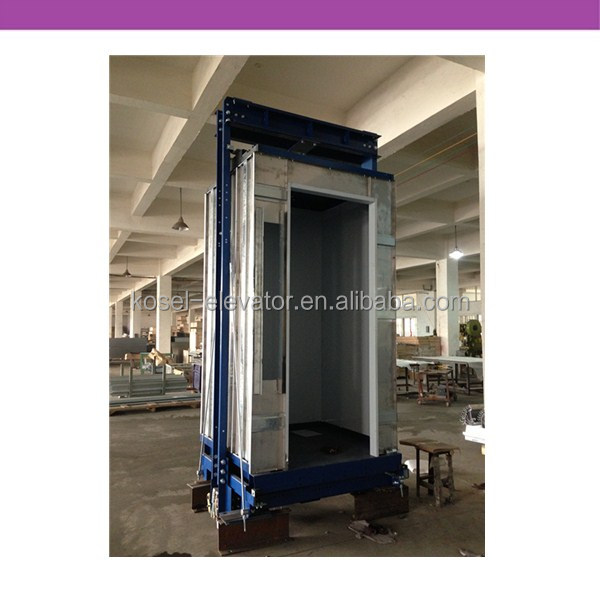 Small Home Elevator Manufacturers Stainless Lift Cabin