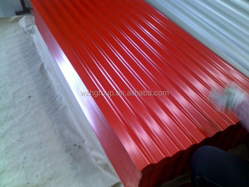 Garage t le de toiture t le ondul e clignotant acier id de produit 18982037 - Isolation tole ondulee ...