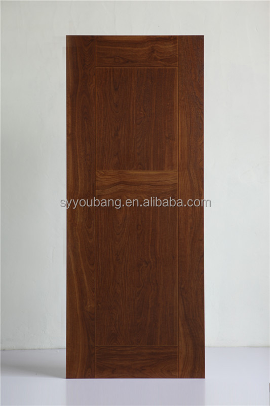 Mahogany door skin melamine finished molded door skin for Mahogany door skin