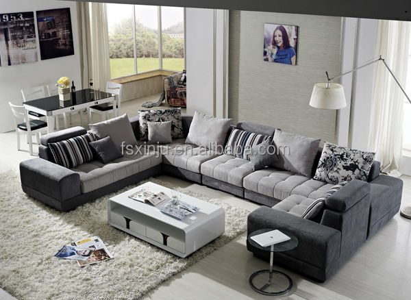 U-Form türkischen stil möbelstoff Sofa/modernes sofa design/Stoff ...