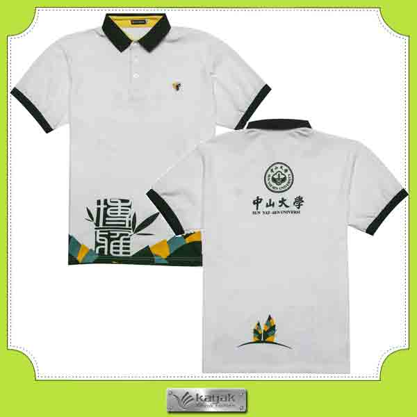 Custom men 39 s embroidery logo polo shirt blue collar design for Different types of polo shirts