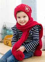 новый капот skullies & шапочки pjs удлинить личности детей шапка шапка и шарф набор зимних fs hp-tz016