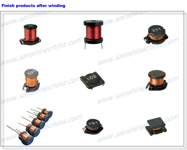 (SS-100B) Drum core inductor winding machine