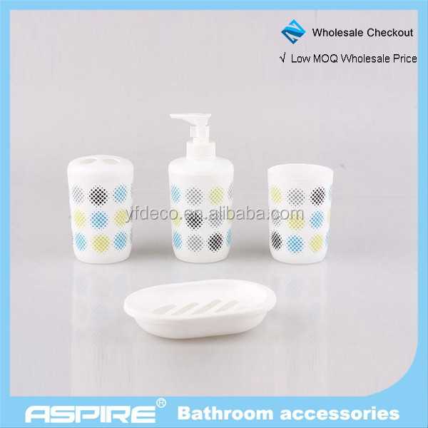 Wholesale bathroom accessories acrylic modern bathroom for Bathroom accessories acrylic