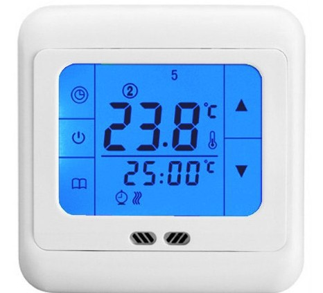 30pcs/лот сенсорный экран Отопление термостат для электрического обогревателя, вода, масло подогреватель котел системы отопления