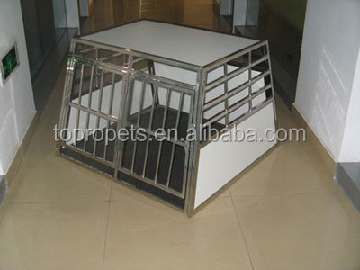 stainless steel dog cage,dog transport cage,dog transport box