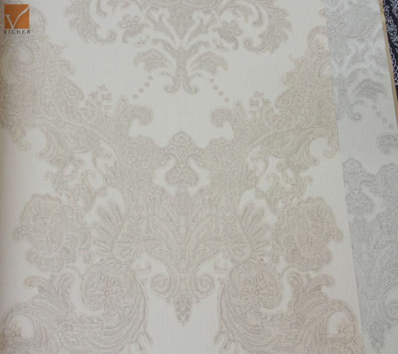 Geprägt schwere pvc-tapete italienisches design tapeten für ...
