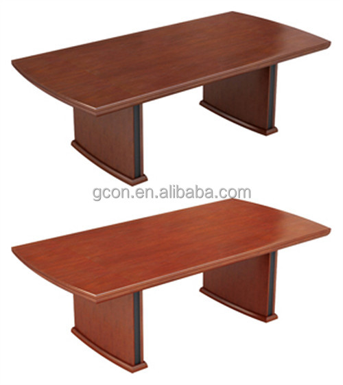 Fruit color veneer furniture wood conference desk GB311-2412