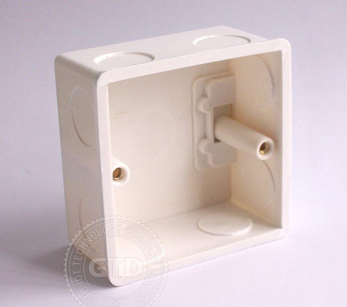 Crystal white tremp panneau de verre tactile sonnette for Panneau verre exterieur