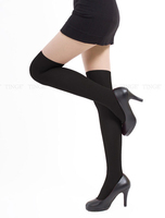Женские колготки 5 pcs/ lot Fashion Women Knee High Stockings Mock Suspender Tights S-26