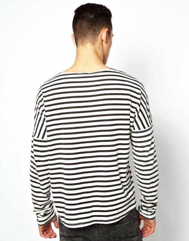 2014 Latest Fanshion Style Wholesale Striped T Shirt Man