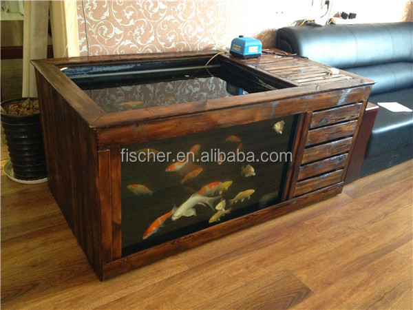 2014 new product aquarium fiberglass koi fish tank with for Koi fish filter
