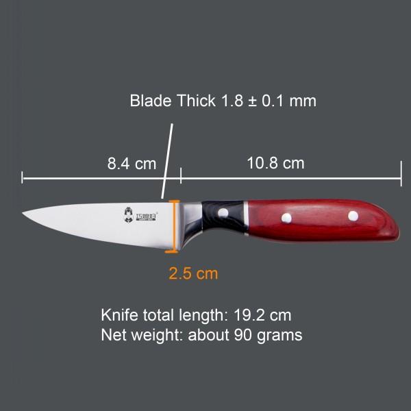 The Edge Fine & Sharp Kitchen Knife For Paring Knife
