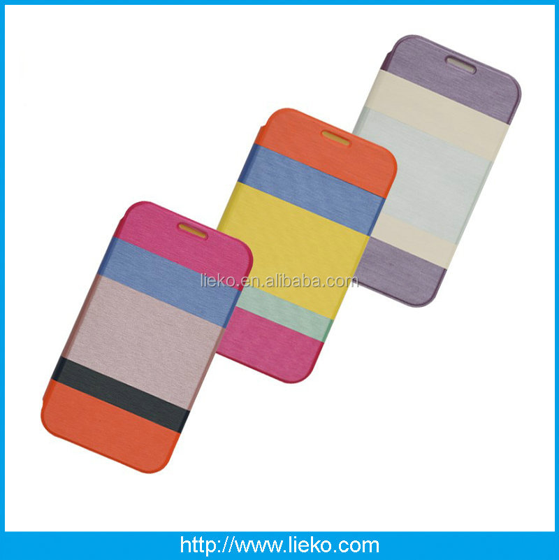 Rainbow Flip Leather case for iPhone 6