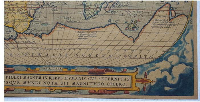 красочные 60cmx45cm мода словами стиль мира карта подарок большого мира карта Крафт карта большой карте мира