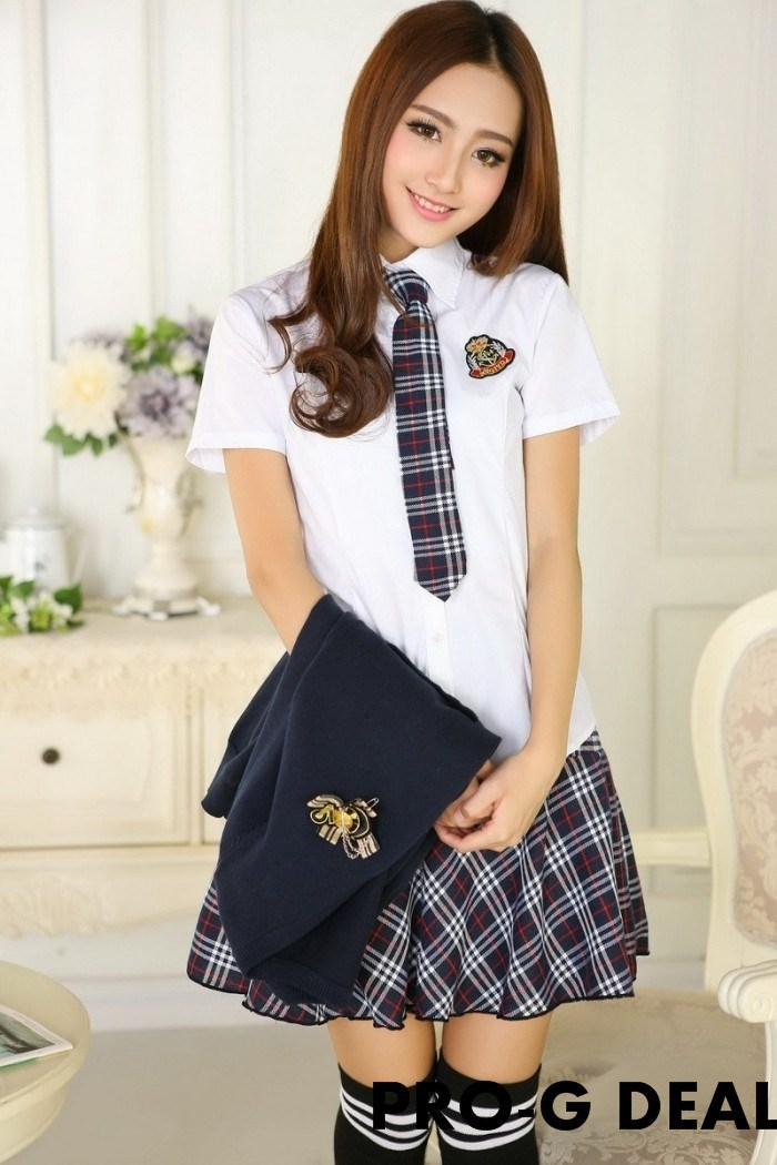 Школьная форма Sailor Scholl uniform + + 3 s/xl Fashion school uniform