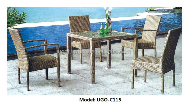 Fast food restaurant table and chairs outdoor furniture for Outdoor office building