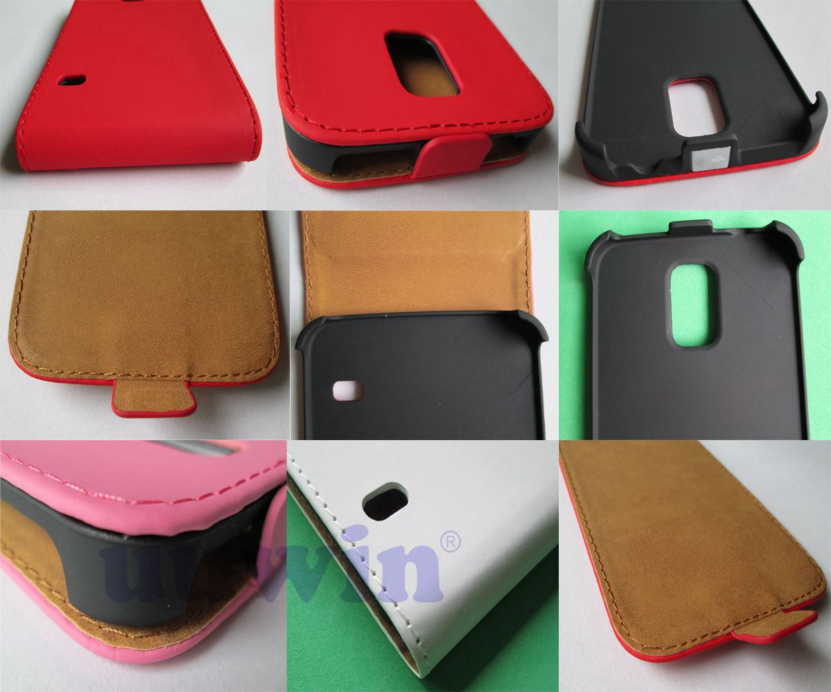 New product Korean version leather case for Galaxy S5 i9600