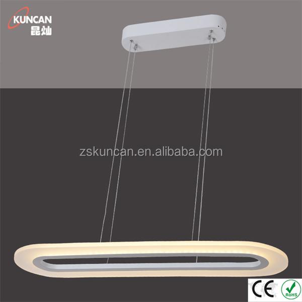 Fresco diseño arylic led lámpara de techo para sala de comedor ...