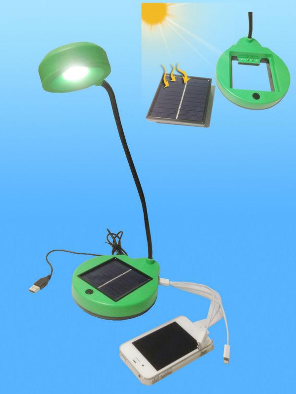 Imagem de mesa solar LED Lâmpadas bateria liderada lâmpada de mesa