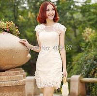 Новый дизайн моды короткие платья женщин тонкий хип длинные Свадебные ужин партии платье 2016 день рождения партии формальных