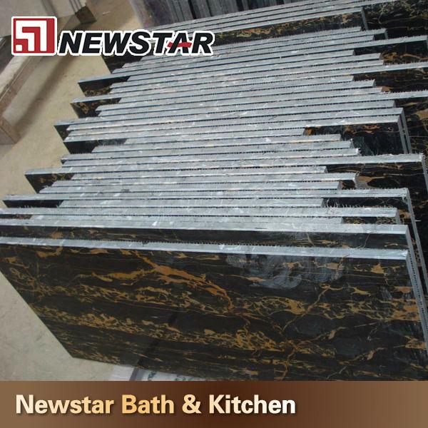 Xiamen afgan lastra di marmo nero e oro malmo id prodotto ...