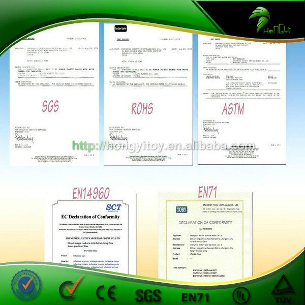 CE UL SGS EN14960 certificate