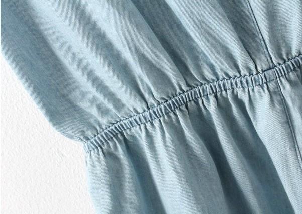 Женский джинсовый комбинезон European  567