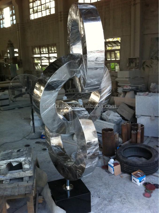 gro e st dtischen gl cklich fett lustige metall statue edelstahl garten skulptur metall. Black Bedroom Furniture Sets. Home Design Ideas