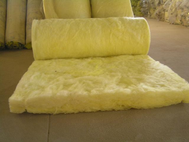 China high quality waterproof glass wool blanket view for Glass fiber blanket insulation